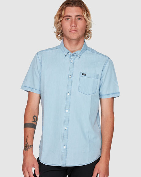 MENS DEAD FLAG WASHED II TOP