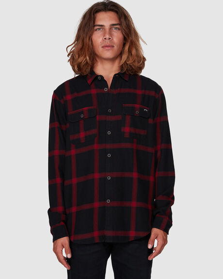 HIGHLANDS LONG SLEEVE FLANNEL SHIRT