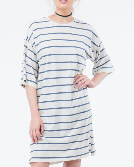 LAST SHIFT DRESS - STRIPE
