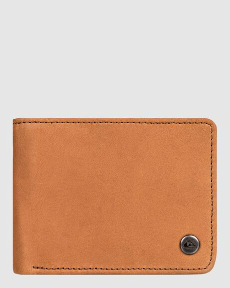 MENS MACK LEATHER BI-FOLD WALLET