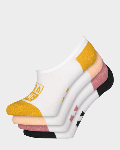 WOMEN'S STACKED INVISIBLE SOCKS
