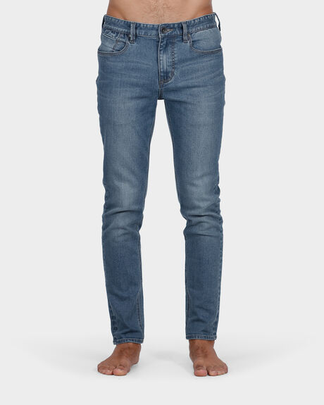 SLICK R TAPERED PACIFIC BLUE JEAN