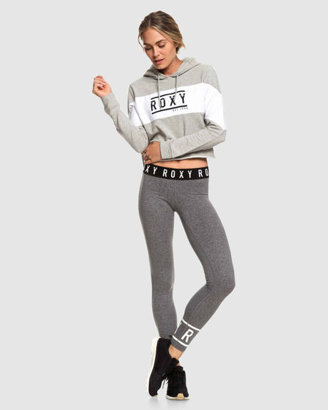 ENDLESS PARTY CROPPED YOGA HOODIE