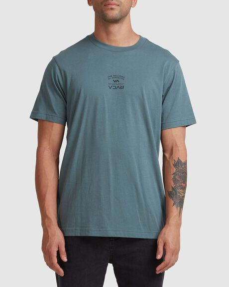 BEND IT LIKE RVCA SS TEE