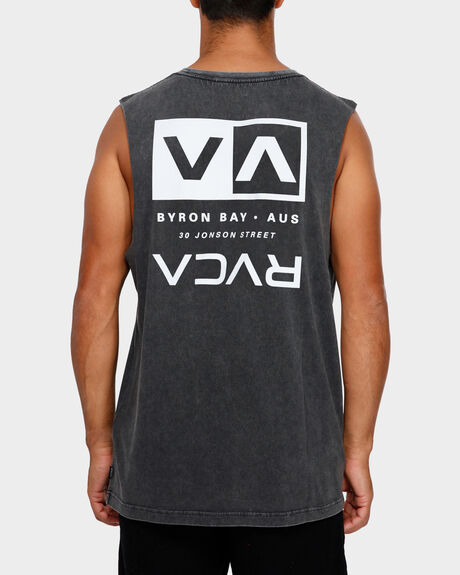 BYRON ADDRESS MUSCLE TEE