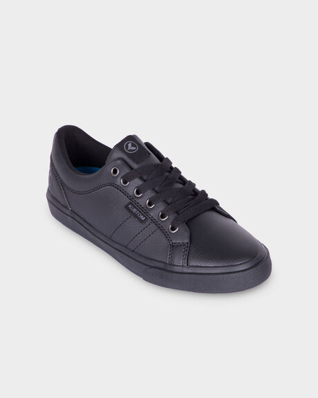 BOYS HIGHLINE CLASSIC BLACK LEATHE