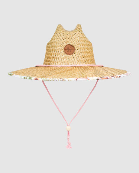 WOMENS PINA TO MY COLADA STRAW HAT