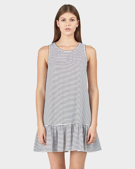 VENICE STRIPE PORT DRESS