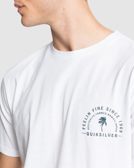 Quiksilver Mens Blind Alley Tee