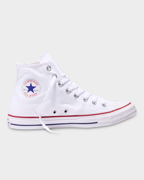 CONVERSE CHUCK TAYLOR HIGH TOP OPTICAL WHITE SHOE