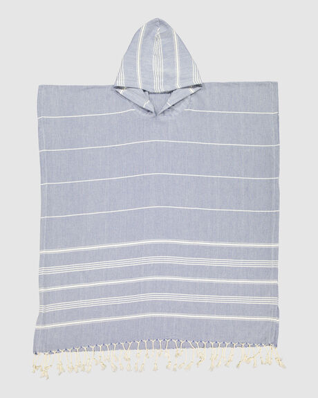 HOODED STRIPE TOWEL