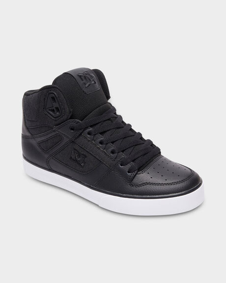 PURE HIGH TOP BLACK/ WHITE