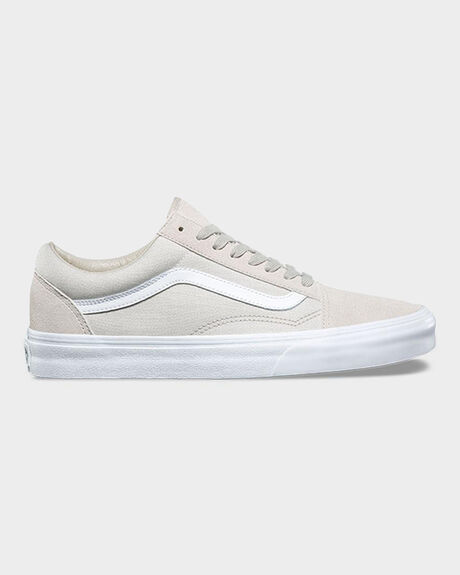 OLD SKOOL SUITING SILVER LINING/TRUE WHITE
