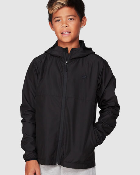 BOYS TRANSPORT WINDBREAKER JACKET
