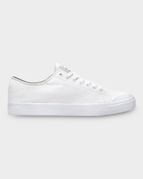 KUSTOM WORLD VULC WHITE SHOE