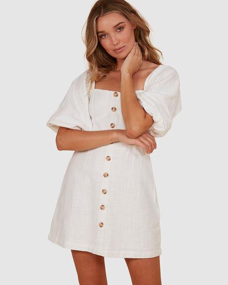WHITE SAND DRESS