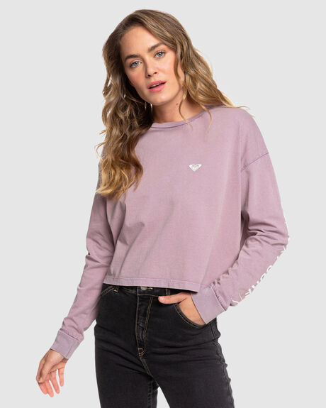CALL ON ME CROPPED LONG SLEEVE TEE