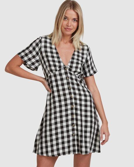 CHECKERS JAYNE DRESS