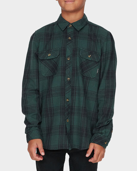 TEEN LUMBER LONG SLEEVE FLANNEL