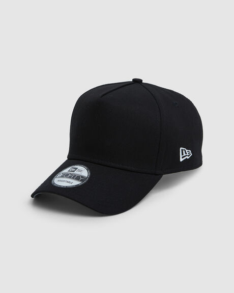 NEW ERA ESSENTIALS BLACK 9FORTY A-FRAME