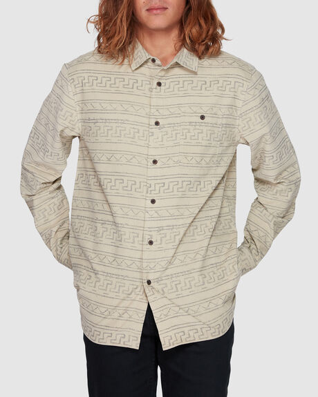 BRAVO CORD LONG SLEEVE SHIRT - TRIBE MINI CORD LS SHIRT