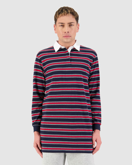GRAMMER LS RUGBY POLO