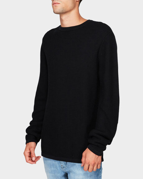 LINK KNIT CREW JUMPER