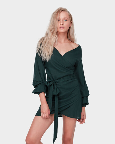 PHILOMENA WRAP DRESS