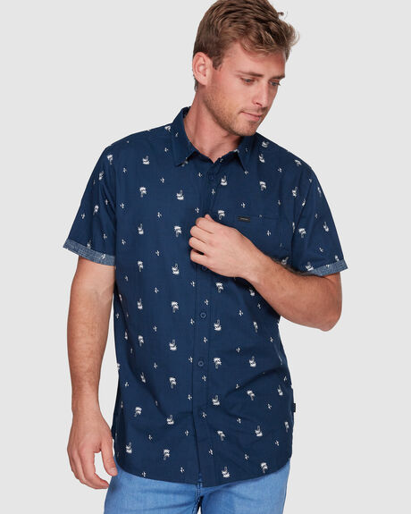 PALM DAYS SHORT SLEEVE SHIRT