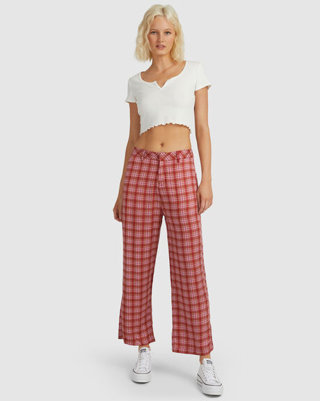 KENDALL - RECYCLED CHECK LOW R