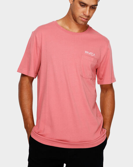 RVCA KEYLINER POCKET SS TEE