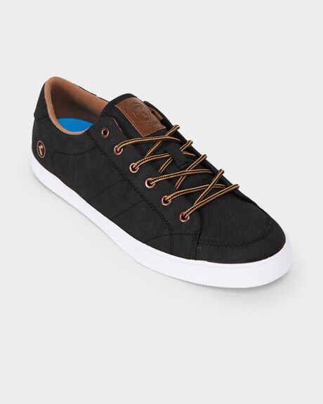 KUSTOM KRAMER BLACK/BROWN SHOE