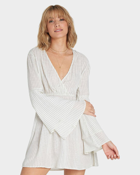 NIGHT FEVER LONG SLEEVE DRESS