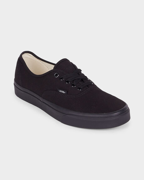 dff1042550f14d AUTHENTIC VANS BLACK  BLACK SHOE