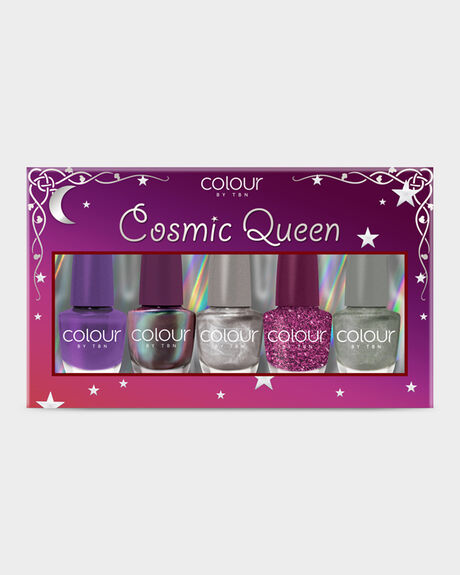 COLOUR BY TBN COSMIC QUEEN NAIL KIT