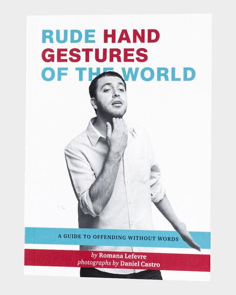 RUDE HAND GESTURES OF THE WORLD