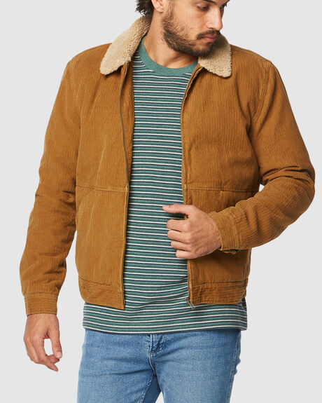 ON THE STORM JACKET ALE CORD