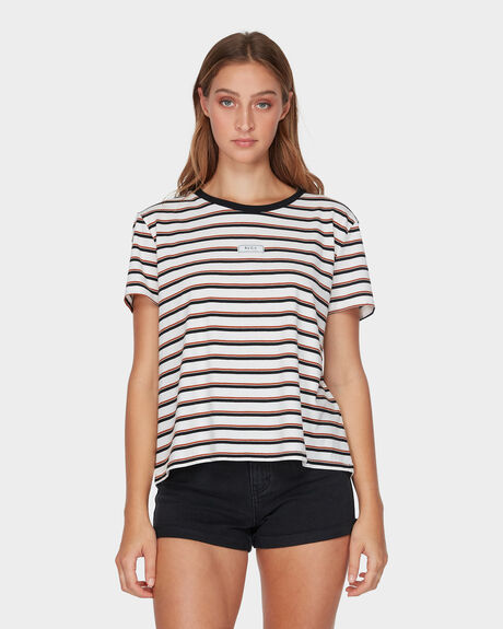 PATCH STRIPE TEE