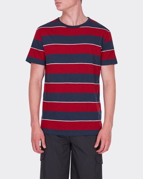 LOW KEY STRIPE TEE
