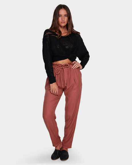 DESERT ADVENTURE PAPER BAG WAIST PANT