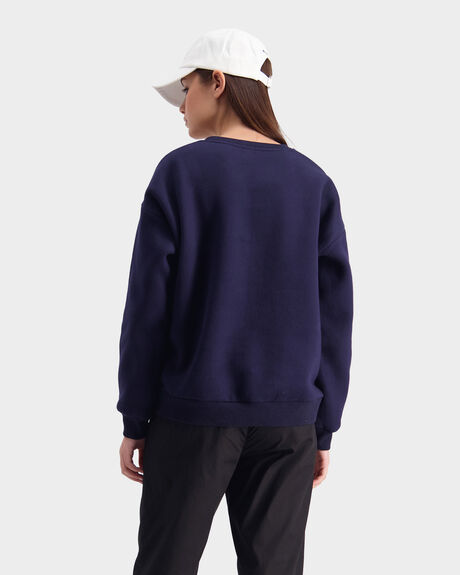 HFR COLOUR SLOUCH CREW JUMPER