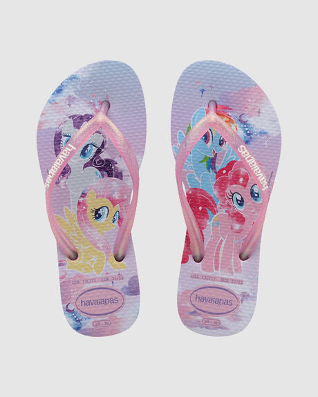 KIDS SLIM MY LITTLE PONY THONGS