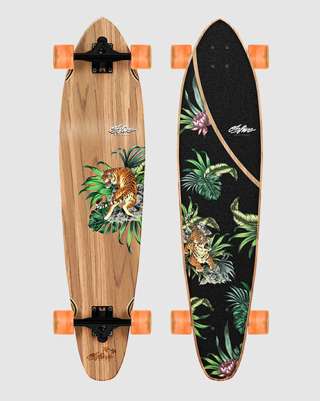 PSYCHED TIGER LONGBOARD