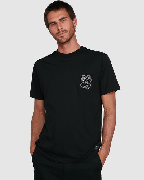 MENS HEADLINE POCKET SHORT SLEEVE TEE
