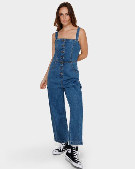 OVERWORKED DENIM OVERALL