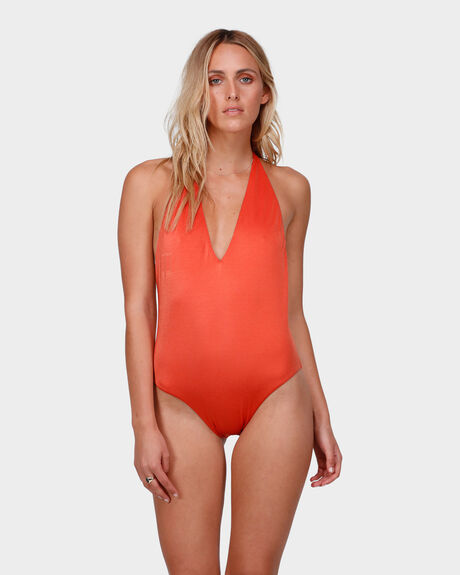 SEA CHASER V NECK ONE PIECE