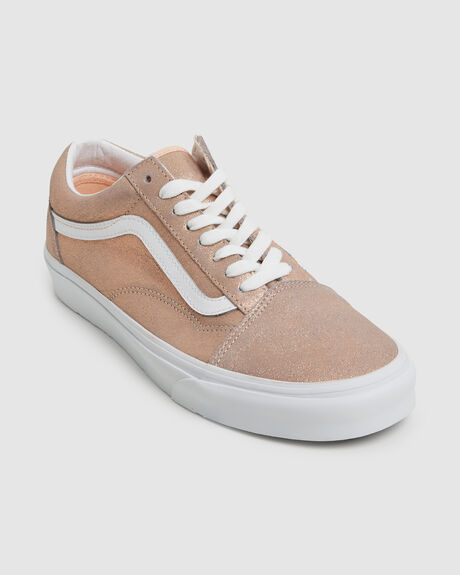 OLD SKOOL ROSE GOLD SKATE SHOE