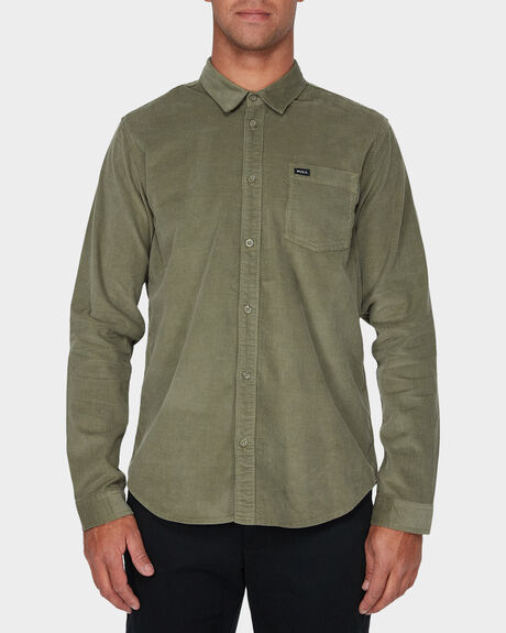TRUEST LONG SLEEVE WOVEN SHIRT