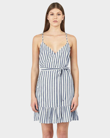 RESORT WRAP DRESS