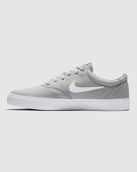 NIKE SB CHARGE CANVAS GRY/WHT